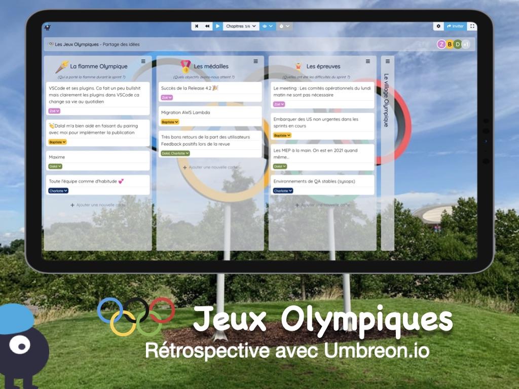 Rétrospective Les Jeux Olympiques